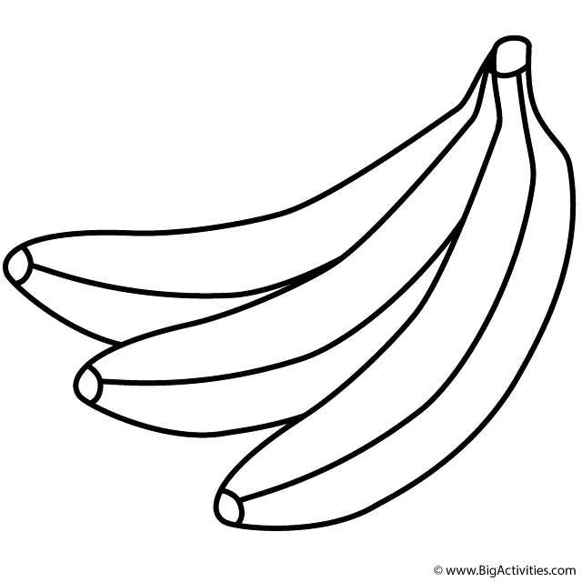 pictures of bananas to print free banana clipart black and white download free clip to print of bananas pictures