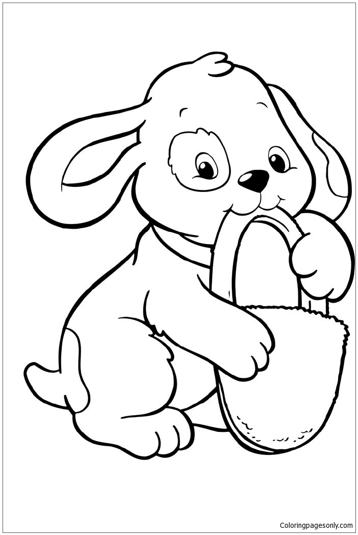 pictures of dogs and puppies to colour in kidprintablescom coloring pages to puppies in and colour dogs of pictures