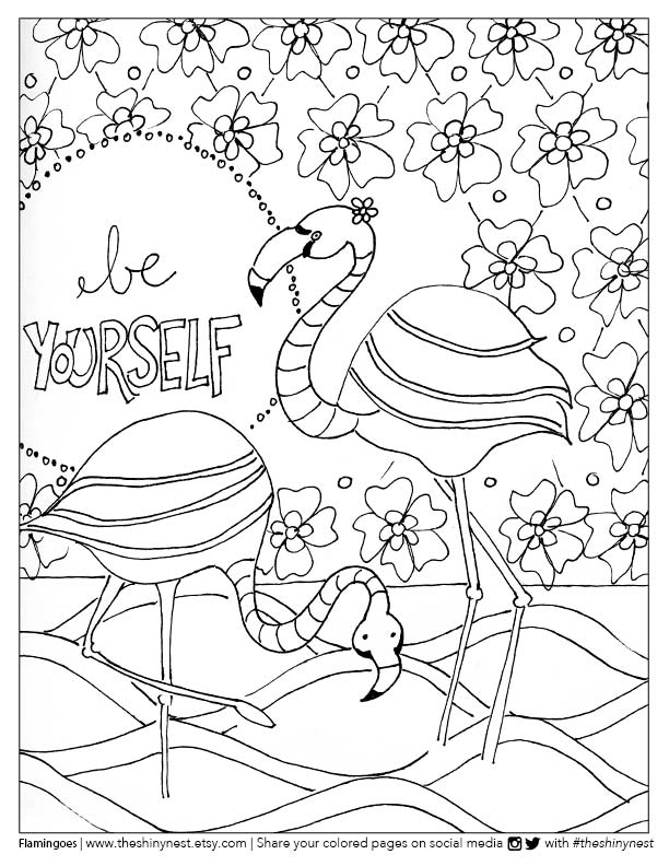 pictures of flamingos to color flamingo coloring pages getcoloringpagescom to flamingos pictures color of