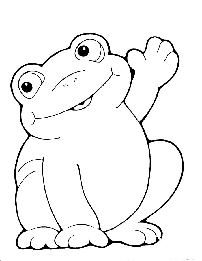 pictures of frogs to color coloring pages for kids frog coloring pages to of frogs color pictures