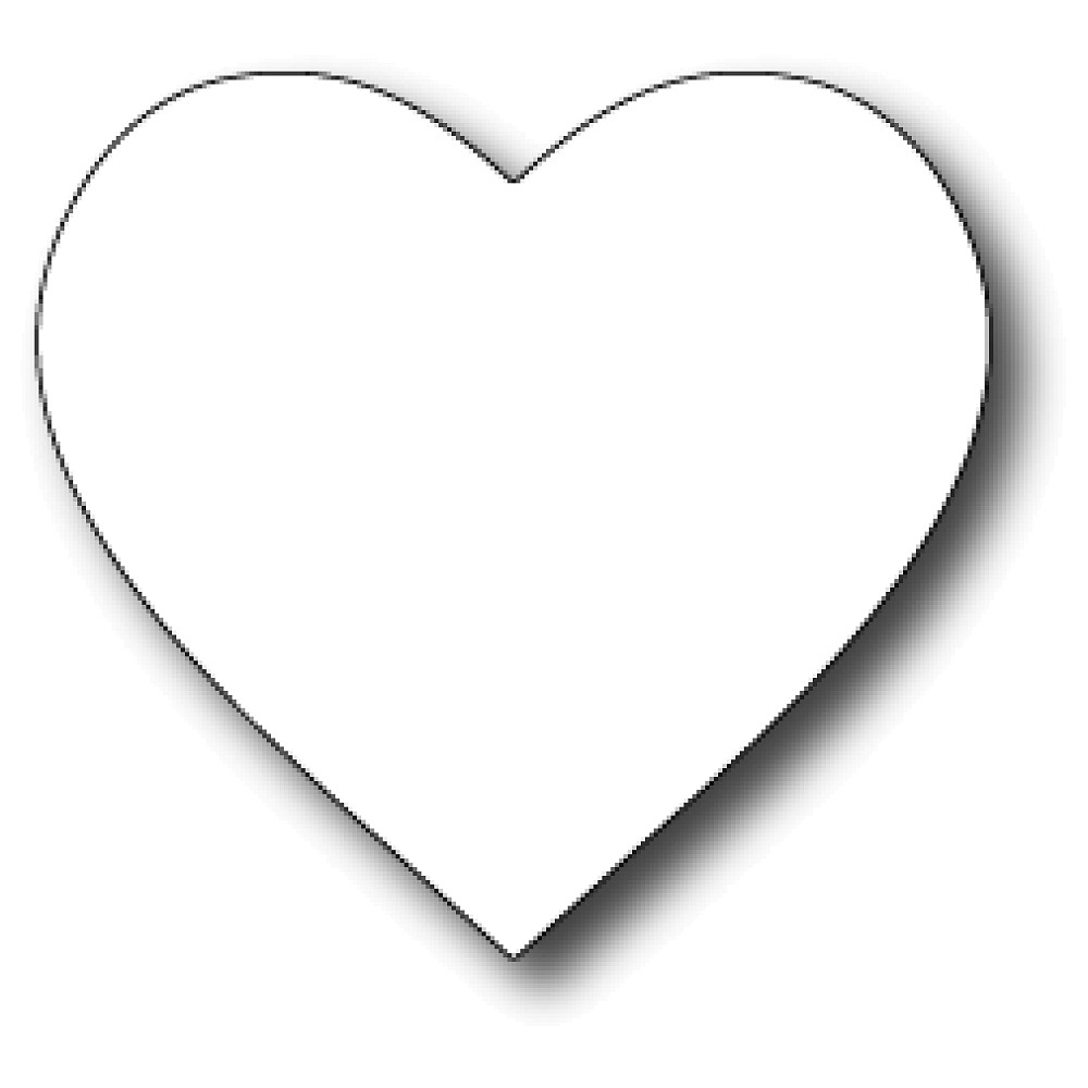 pictures of hearts to color free printable heart coloring pages for kids of pictures color hearts to