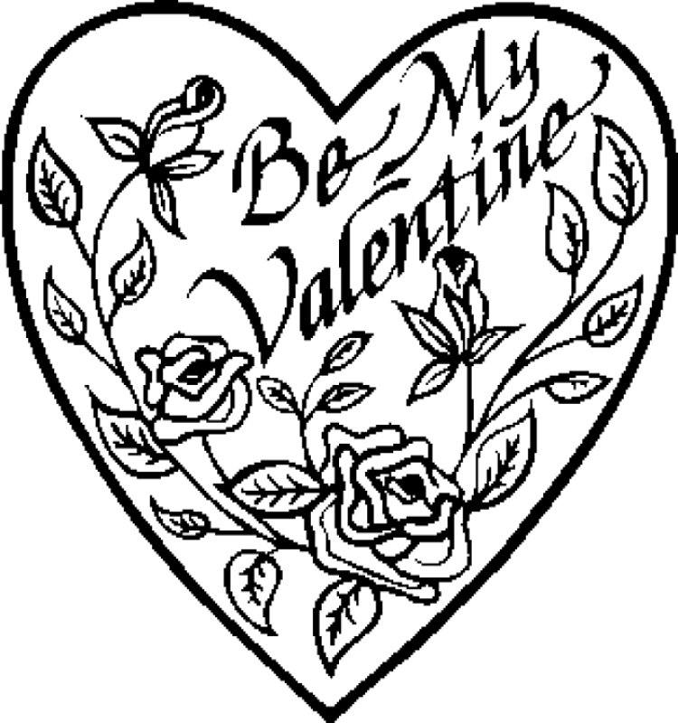 pictures of hearts to color holiday coloring sheets janice39s daycare pictures hearts of to color