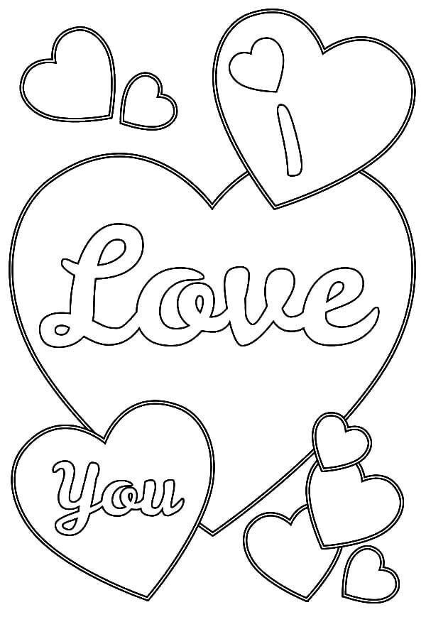 pictures of hearts to color i love you heart coloring pages heart coloring pages color pictures of to hearts