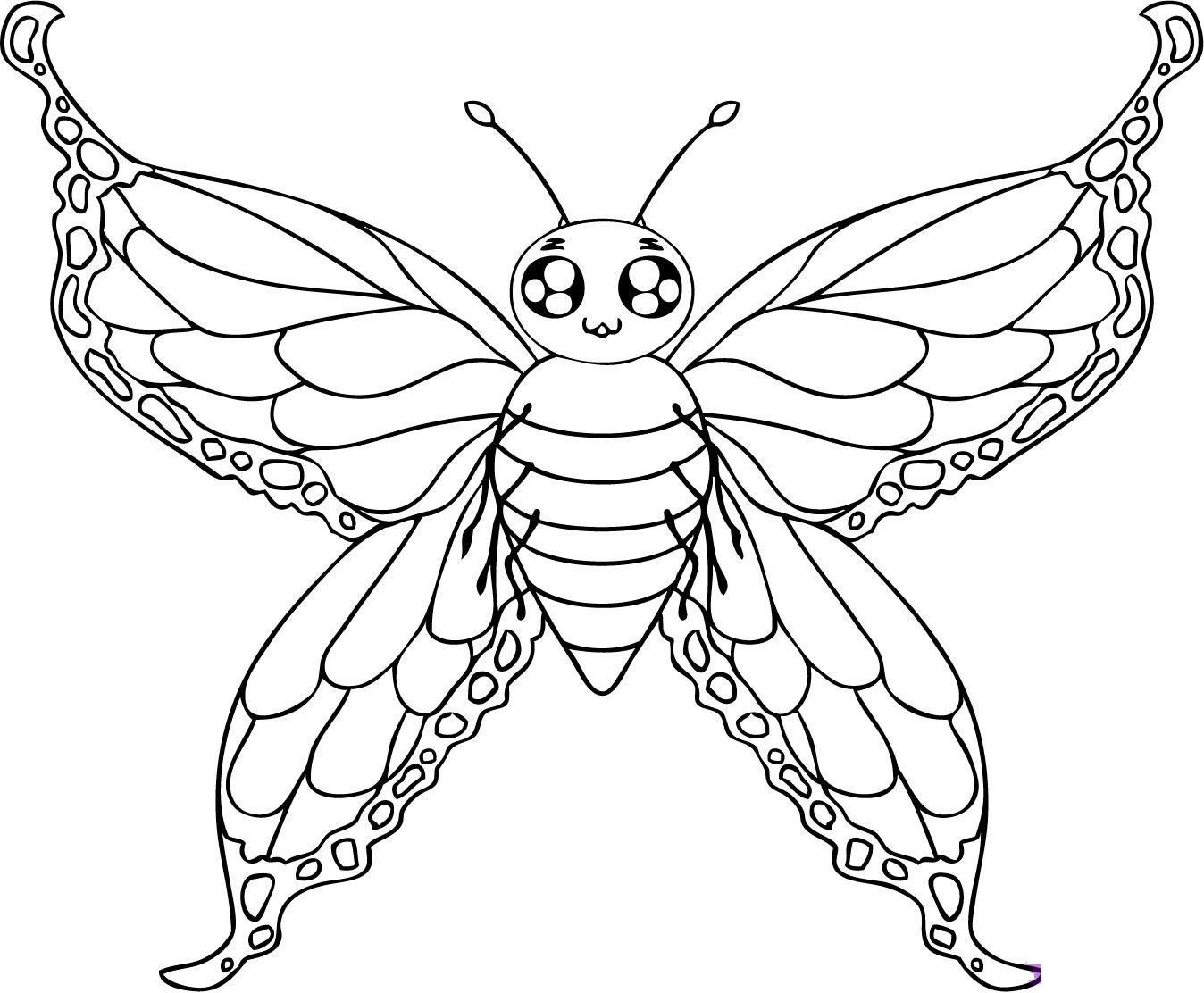 pictures to color of butterflies free printable butterfly coloring pages for kids pictures of to butterflies color