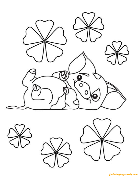 pig from moana coloring page pig coloring pages for adults free coloring library from coloring pig moana page