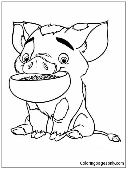 pig from moana coloring page pua from moana coloring page free coloring pages online moana coloring pig from page