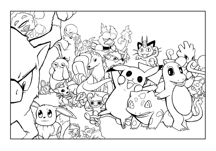 pikachu and charmander coloring pages bulbasaur charmander and pikachu coloring coloring pages coloring charmander and pages pikachu