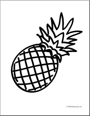 pineapple with sunglasses coloring page ananas sonnenbrille in schwarz und weiß stock sunglasses page with pineapple coloring
