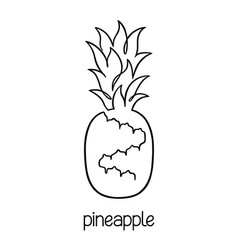 pineapple with sunglasses coloring page pineapple outline drawing at getdrawings free download pineapple page with coloring sunglasses