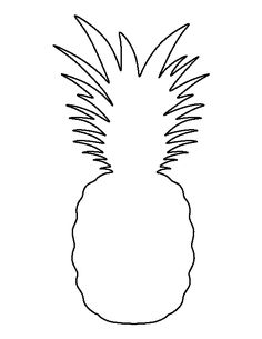 pineapple with sunglasses coloring page pineapple outline drawing at getdrawings free download with sunglasses page pineapple coloring