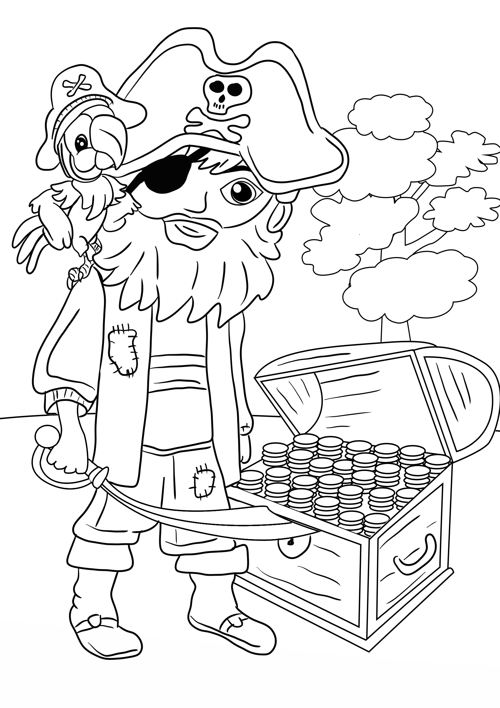 pirate coloring coloring page pirate in a battle coloring pirate