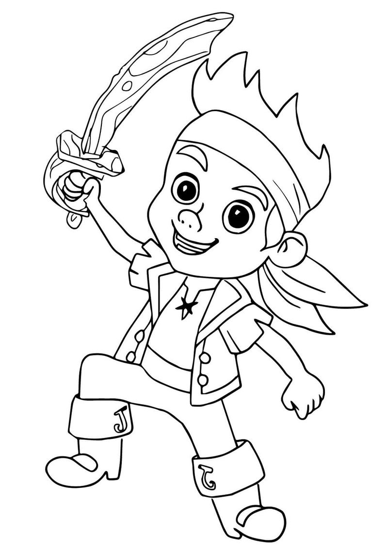 pirate coloring pages fun coloring pages jake and the neverland pirates pages pirate coloring