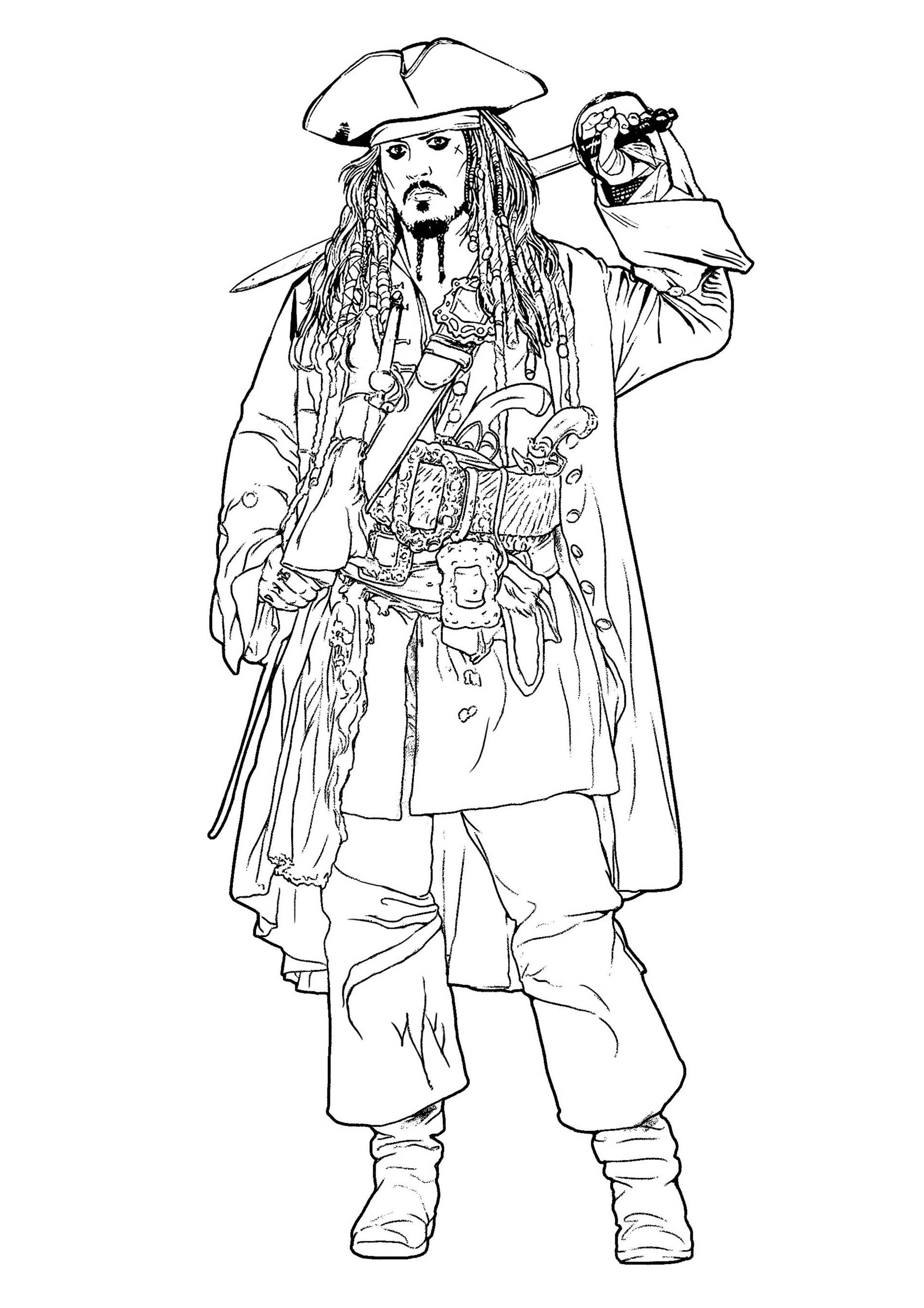 pirate coloring pages pirate color pages for kids coloring pirate pages
