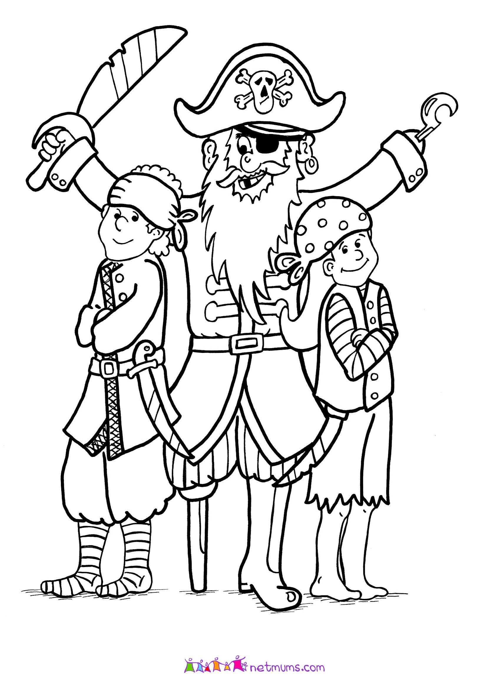 pirate coloring pages pirates of the caribbean to download pirates of the pirate coloring pages