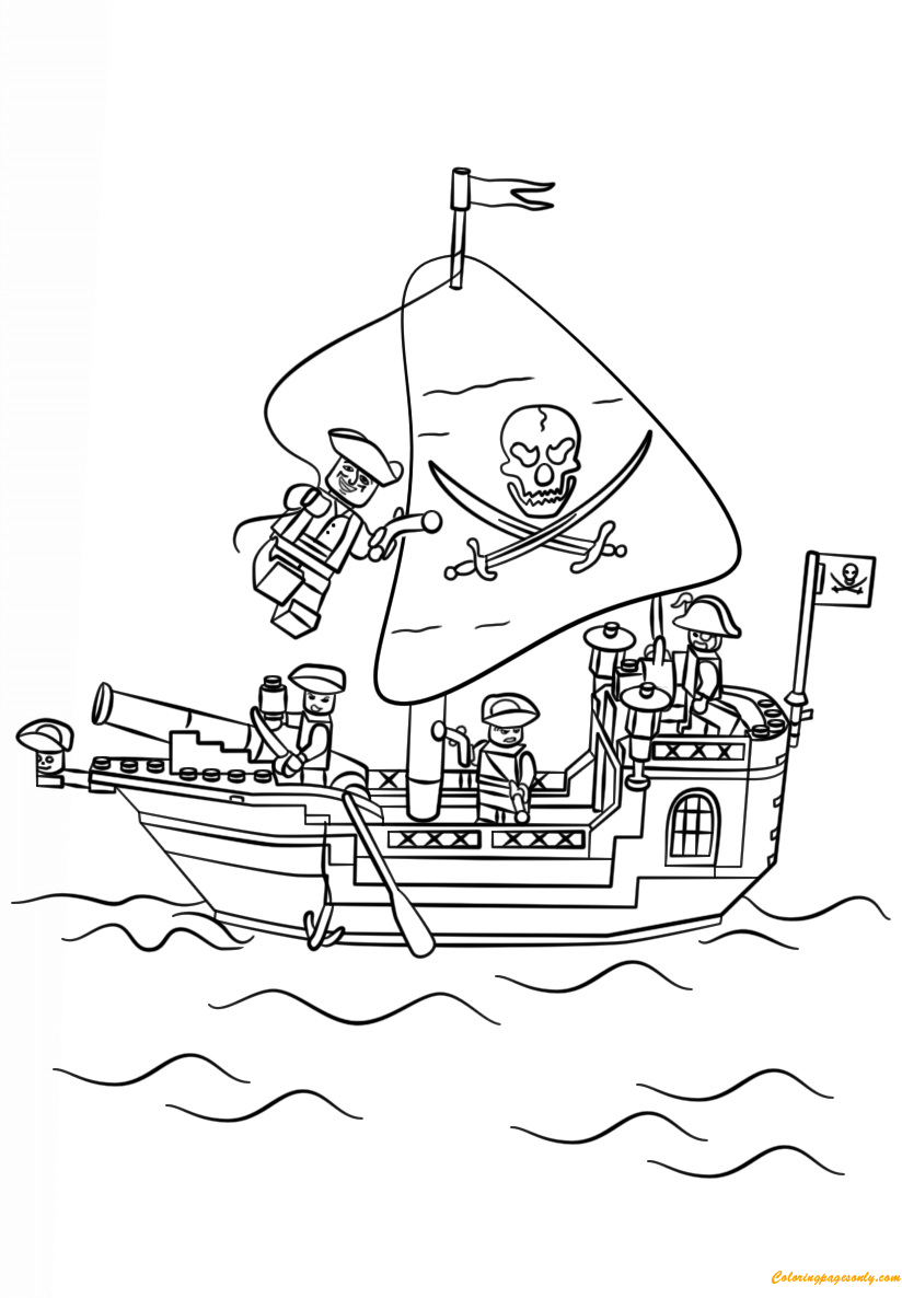 pirate lego coloring pages lego pirate ship coloring page free coloring pages online lego pirate pages coloring