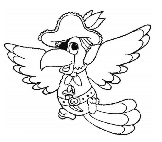 pirate parrot coloring pages pirate parrot coloring page pirate parrot coloring page coloring pages pirate parrot