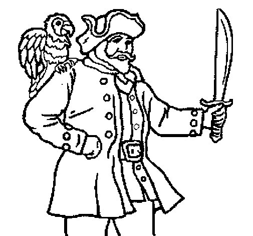 pirate parrot coloring pages pirate parrot coloring page sketch coloring page pages coloring pirate parrot