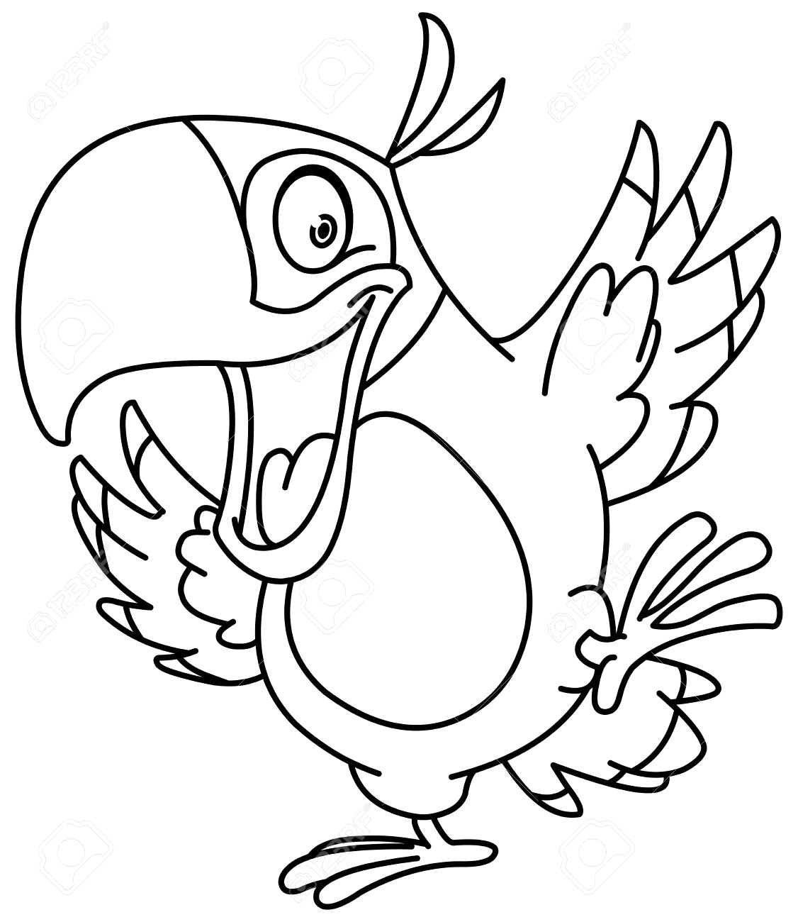 pirate parrot coloring pages pirate parrot drawing free download on clipartmag parrot pirate coloring pages