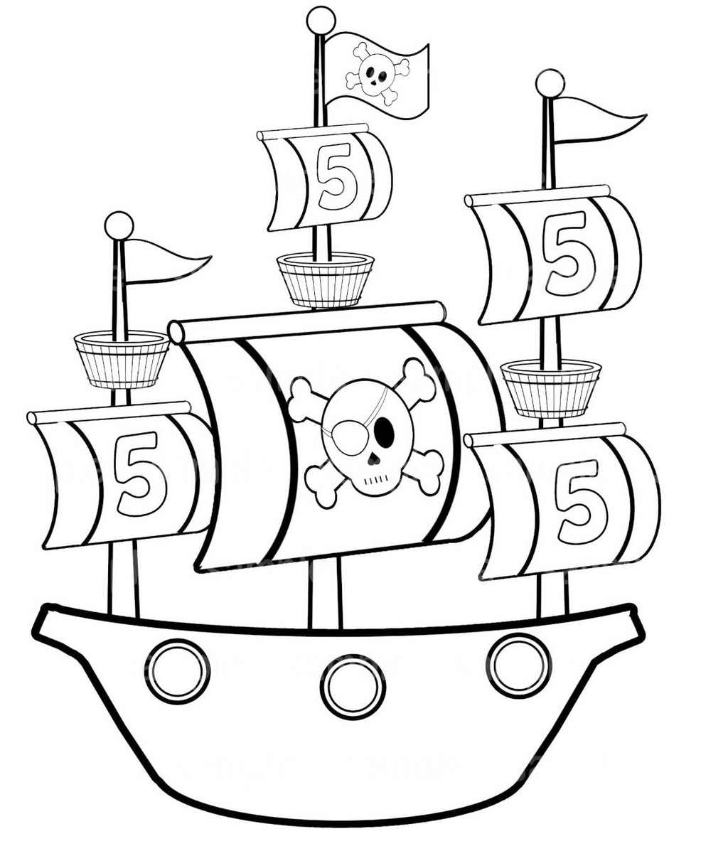 pirate ship to color beehive illustration ship color to pirate