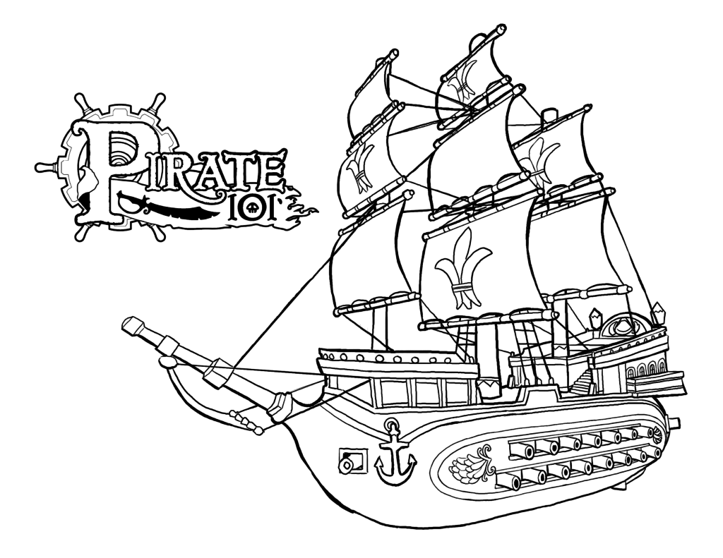 pirate ship to color download pirate ship coloring for free designlooter 2020 ship pirate color to
