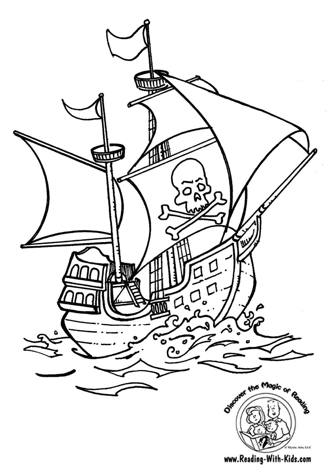 pirate ship to color pirate ship coloring page pirate coloring pages pirate color to ship