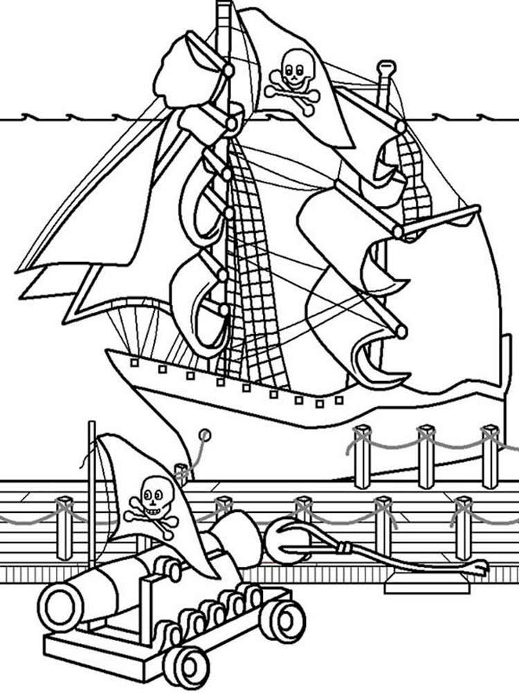 pirate ship to color pirate ship coloring pages free printable pirate ship to pirate ship color