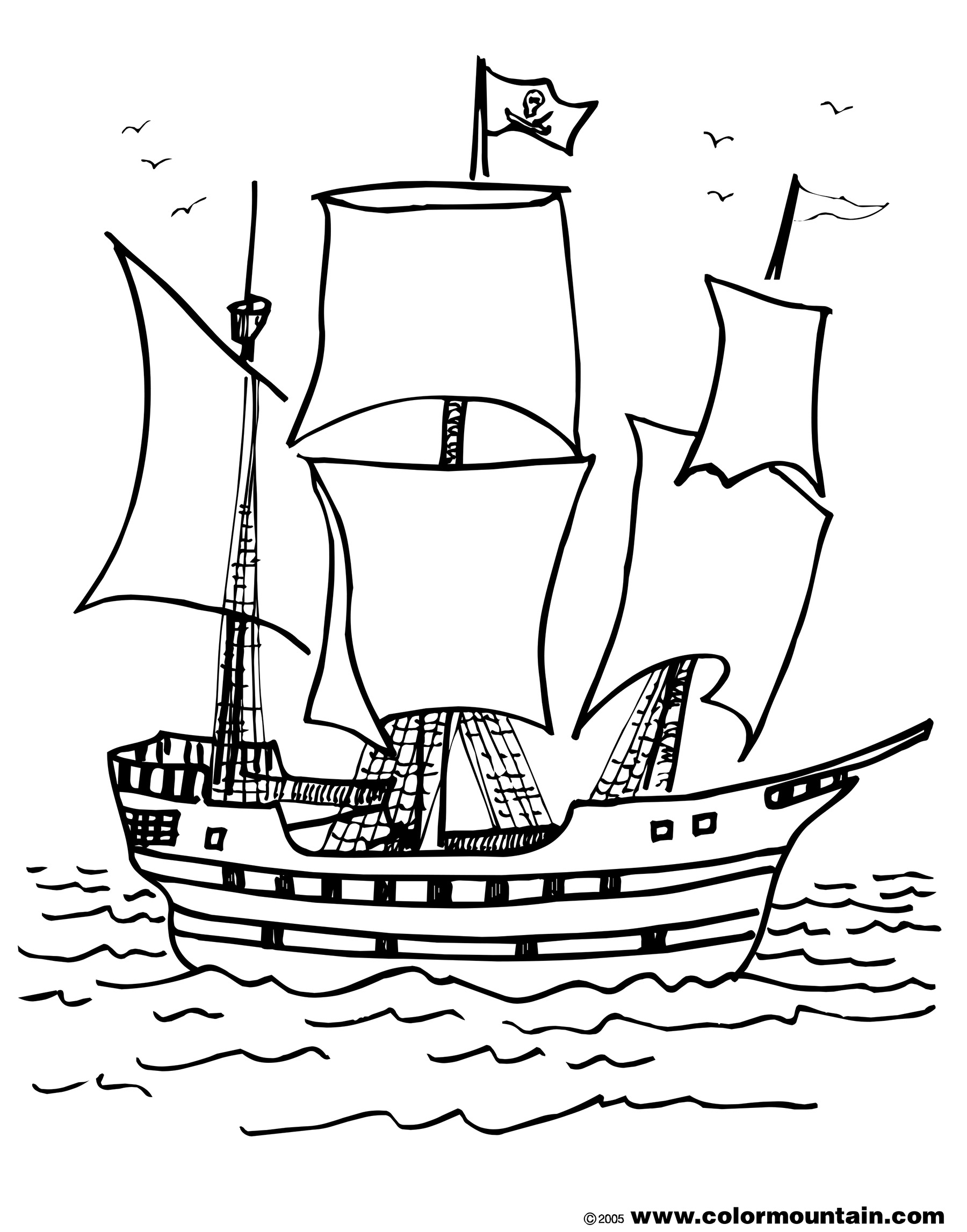 pirate ship to color pirate ship coloring pages to download and print for free pirate to ship color
