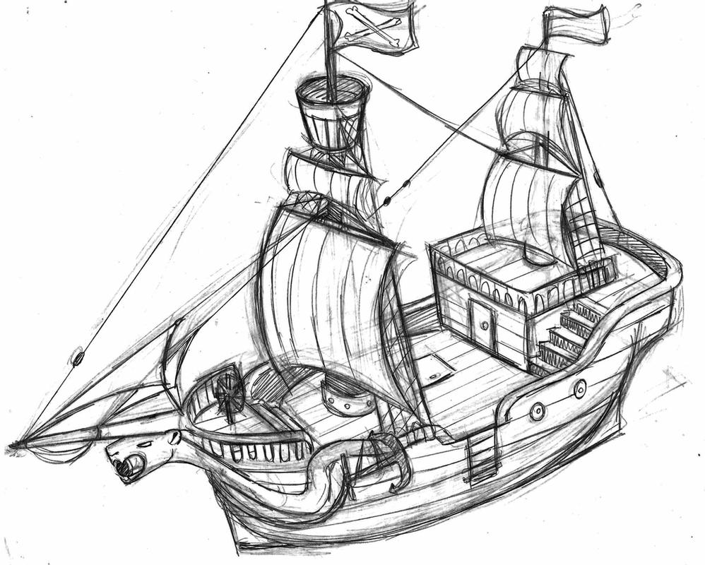 pirate ship to color pirate ship wheel coloring pages color to ship pirate