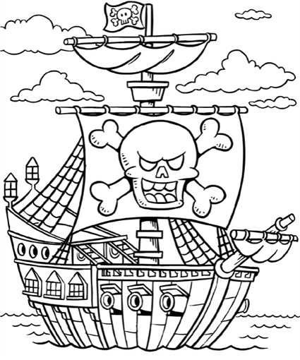 pirates pictures to colour girl pirate coloring page coloring home pirates to colour pictures