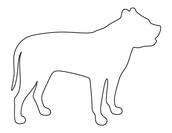 pitbull outline pictures free pit bull coloring page pictures outline pitbull