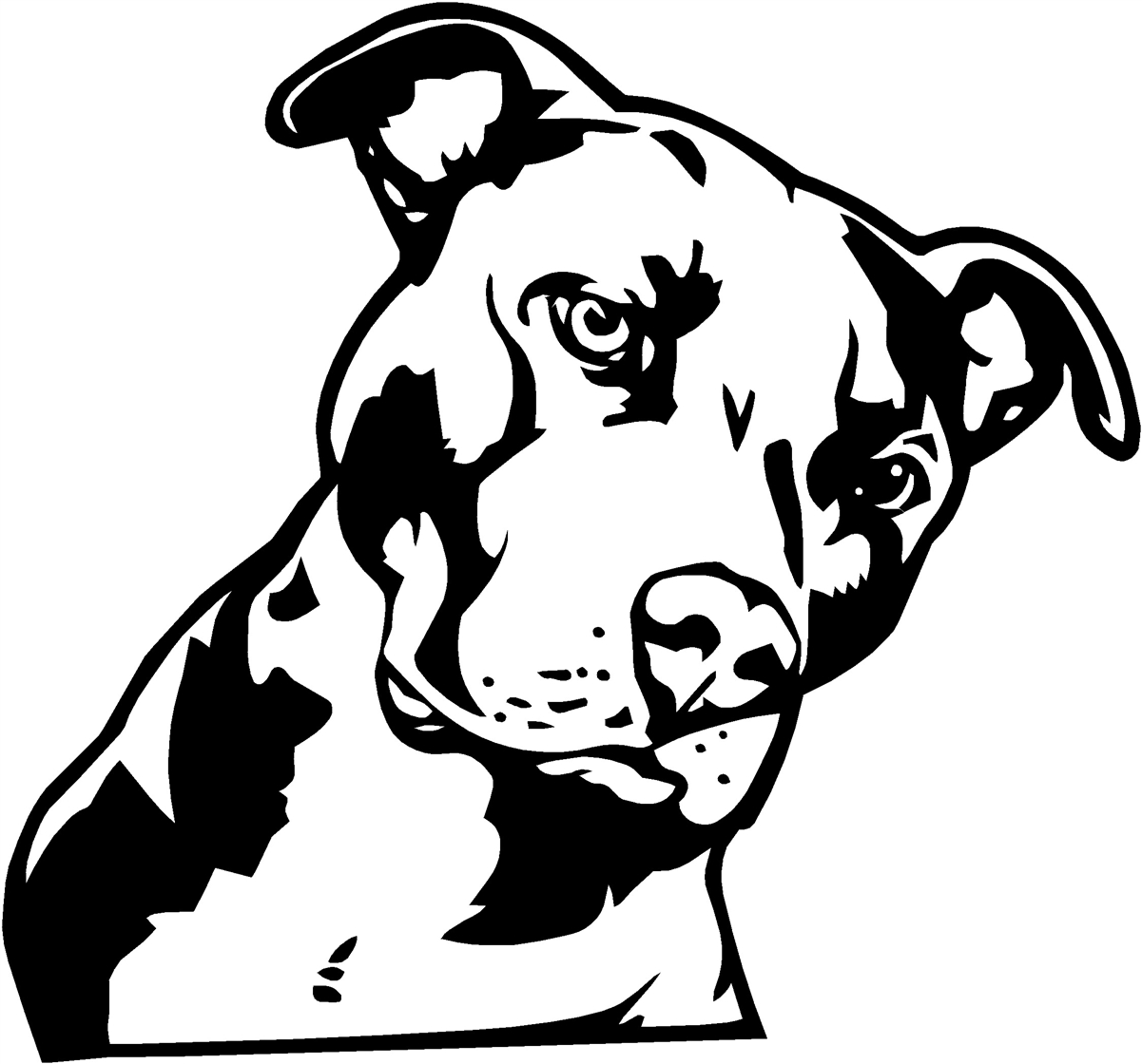pitbull outline pictures pin on awesome shapes coloring pages pictures outline pitbull