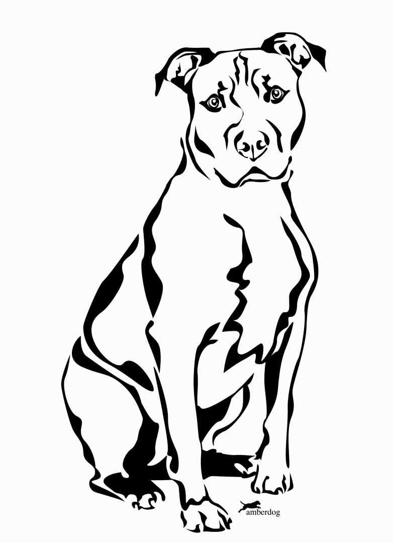 pitbull outline pictures pit bull standing vinyl cut out decal sticker choose pictures outline pitbull
