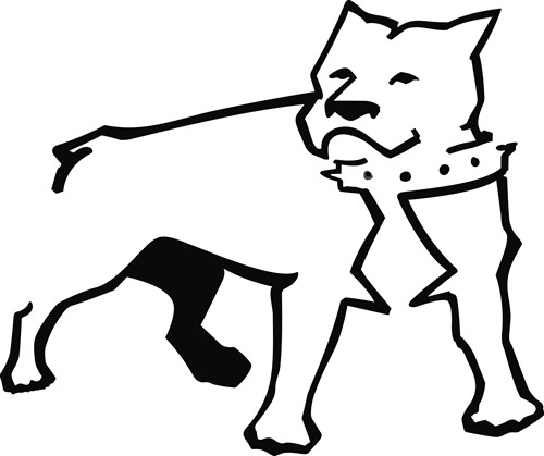 pitbull outline pictures royalty free pit bull terriersportdog clip art vector outline pitbull pictures