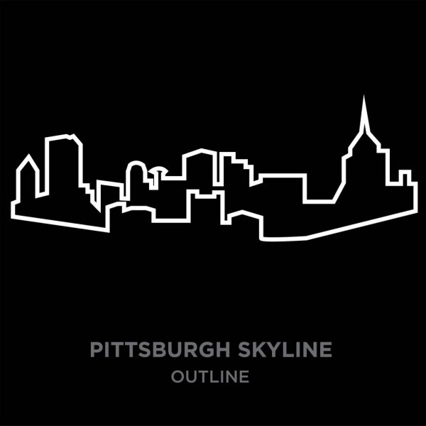 pittsburgh skyline outline pittsburgh skyline outline free download on clipartmag outline skyline pittsburgh