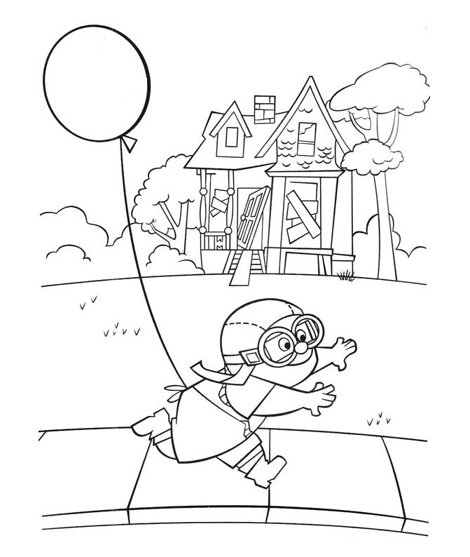 pixar up house coloring pages 1000 images about pixardisney classroom theme on house coloring pixar up pages