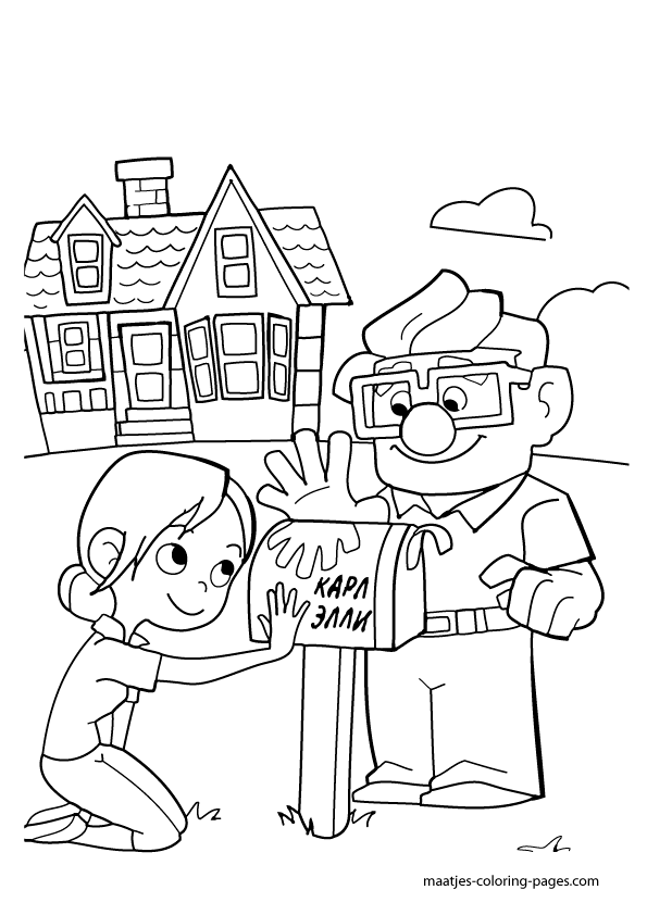 pixar up house coloring pages disney39s up house on balloons coloring page disney house up pixar pages coloring