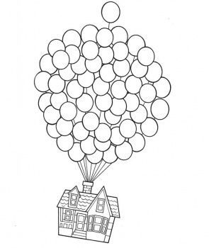 pixar up house coloring pages up coloring pages disney movie up coloring sheets up house coloring pages pixar
