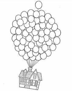 pixar up house coloring pages up house coloring page sketch coloring page house pixar up coloring pages