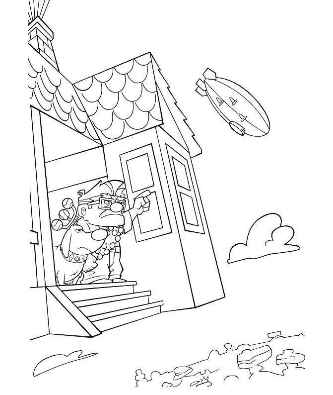 pixar up house coloring pages up house coloring pages at getcoloringscom free pixar pages coloring house up