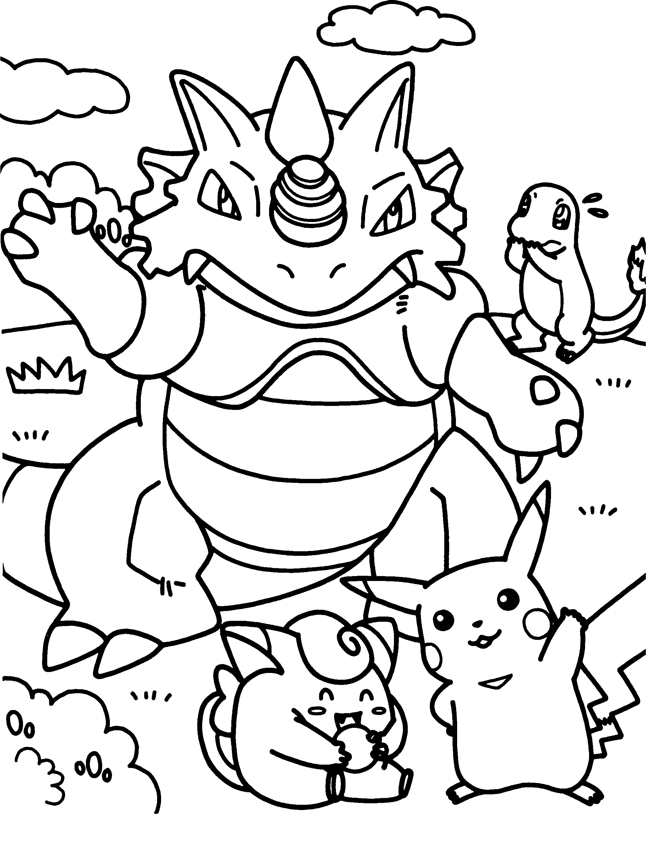 pokemon color all pokemon coloring pages download and print for free color pokemon