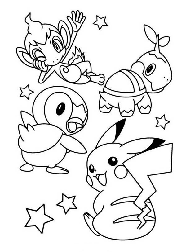 pokemon color best free pokemon all character coloring pages images color pokemon