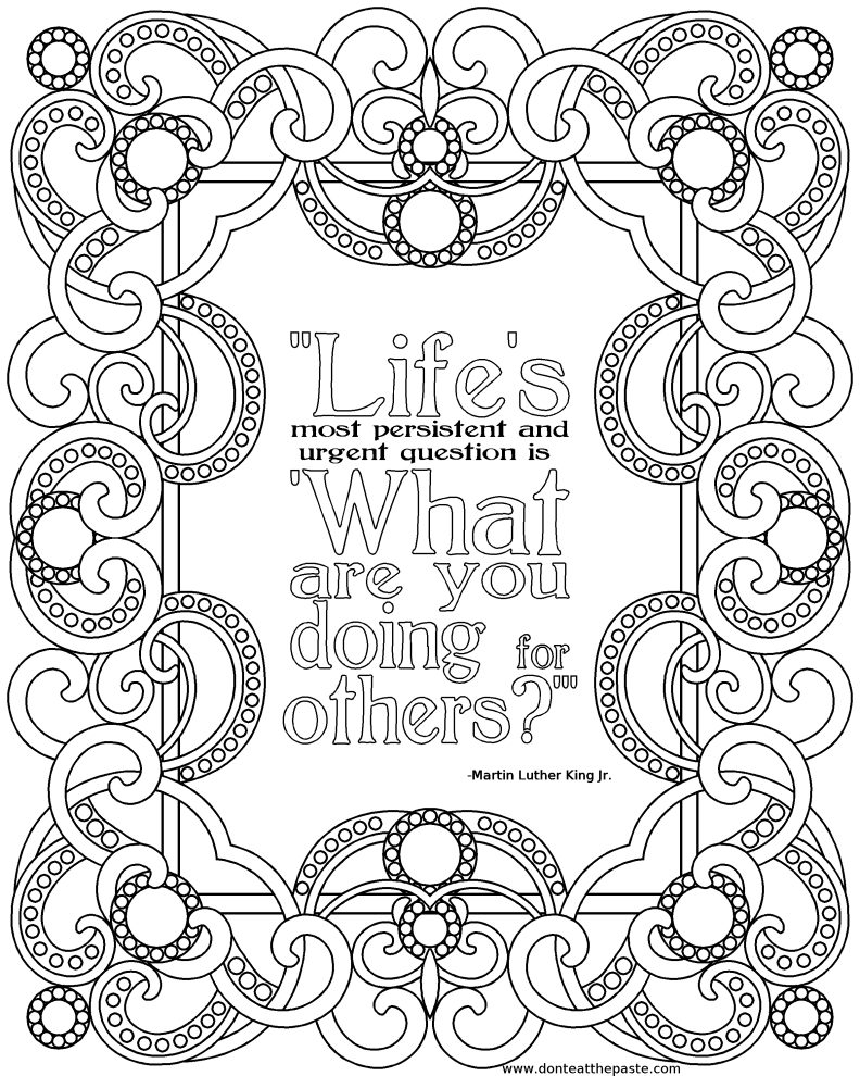 positive quotes coloring sheets all quotes coloring pages printable quotesgram sheets coloring positive quotes