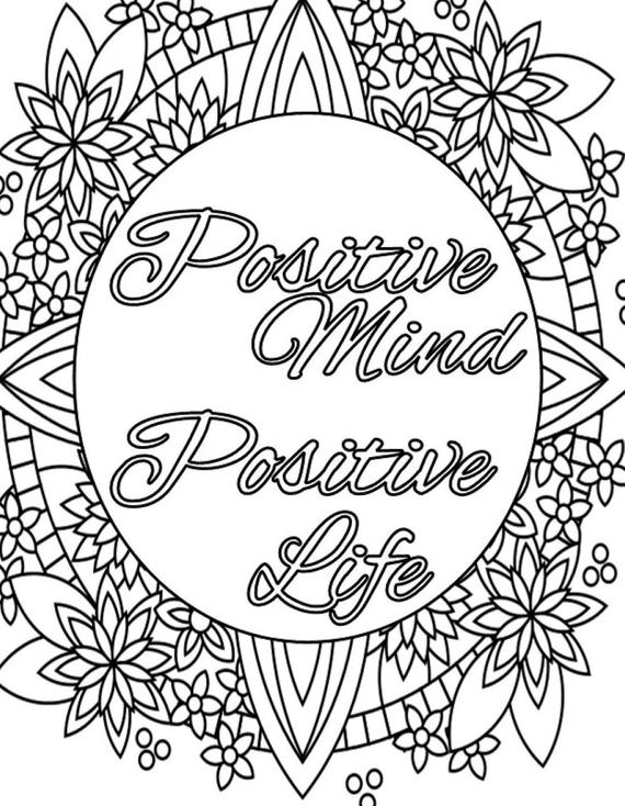 positive quotes coloring sheets positive quotes coloring pages quotesgram coloring quotes positive sheets