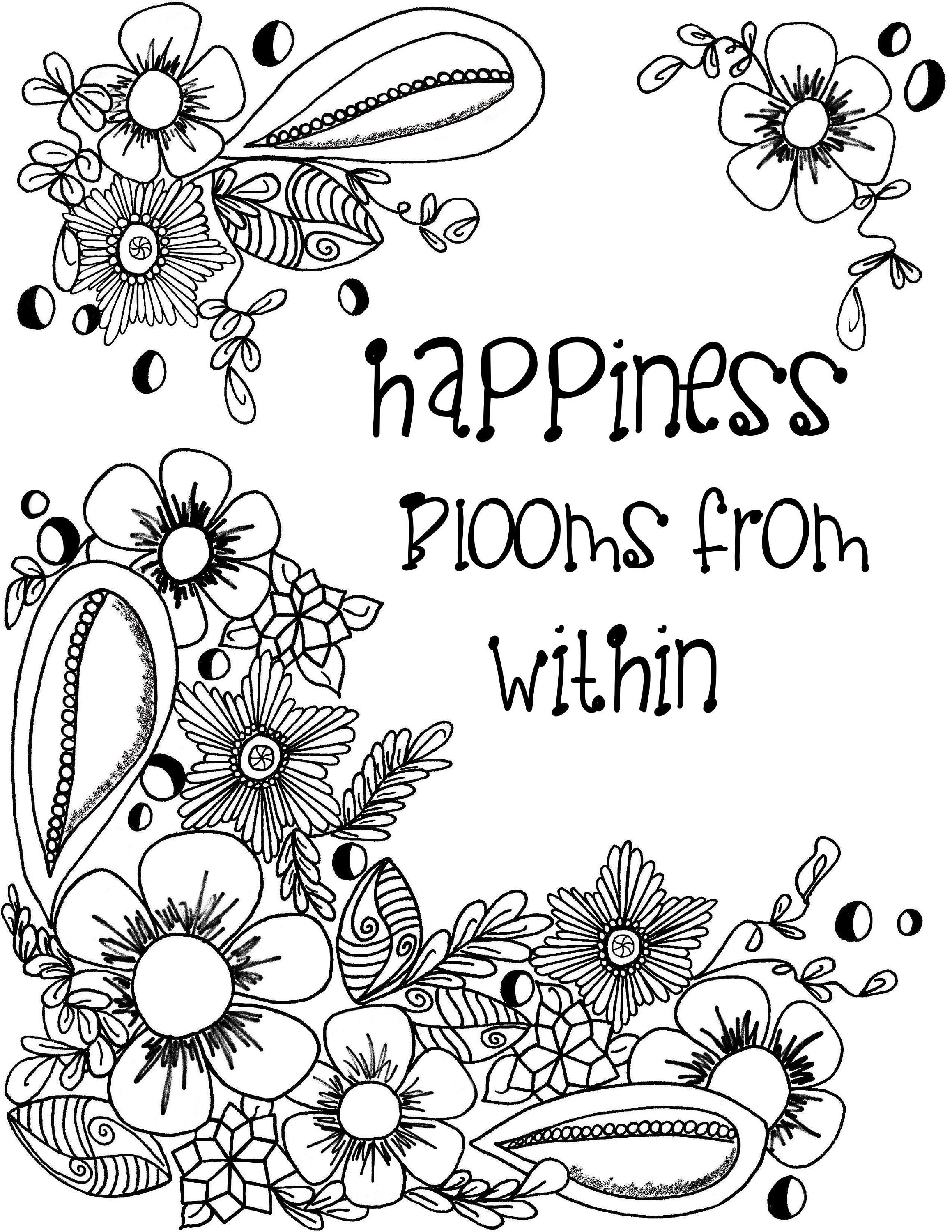 positive quotes coloring sheets quote coloring pages for adults and teens best coloring positive quotes coloring sheets