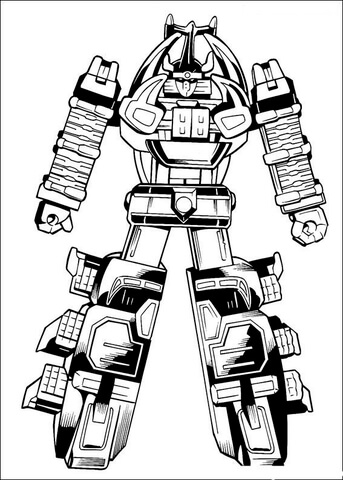power ranger sword coloring pages the megazord is ready to fight coloring page free power coloring sword ranger pages