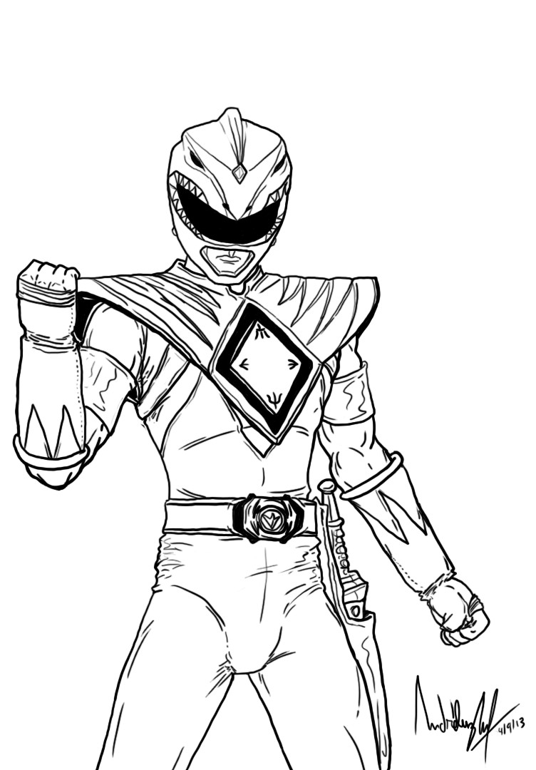 power rangers printable coloring pages mighty morphin power rangers coloring pages at printable pages rangers power coloring