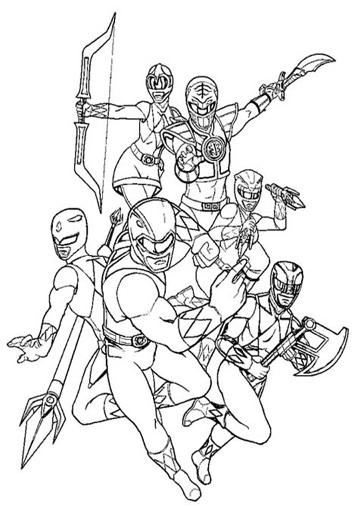 power rangers printable coloring pages power rangers super megaforce coloring pages pages printable coloring rangers power