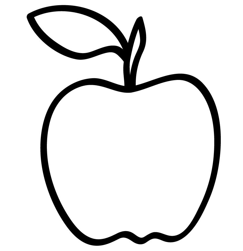 printable apple pictures apple core coloring page at getcoloringscom free pictures apple printable