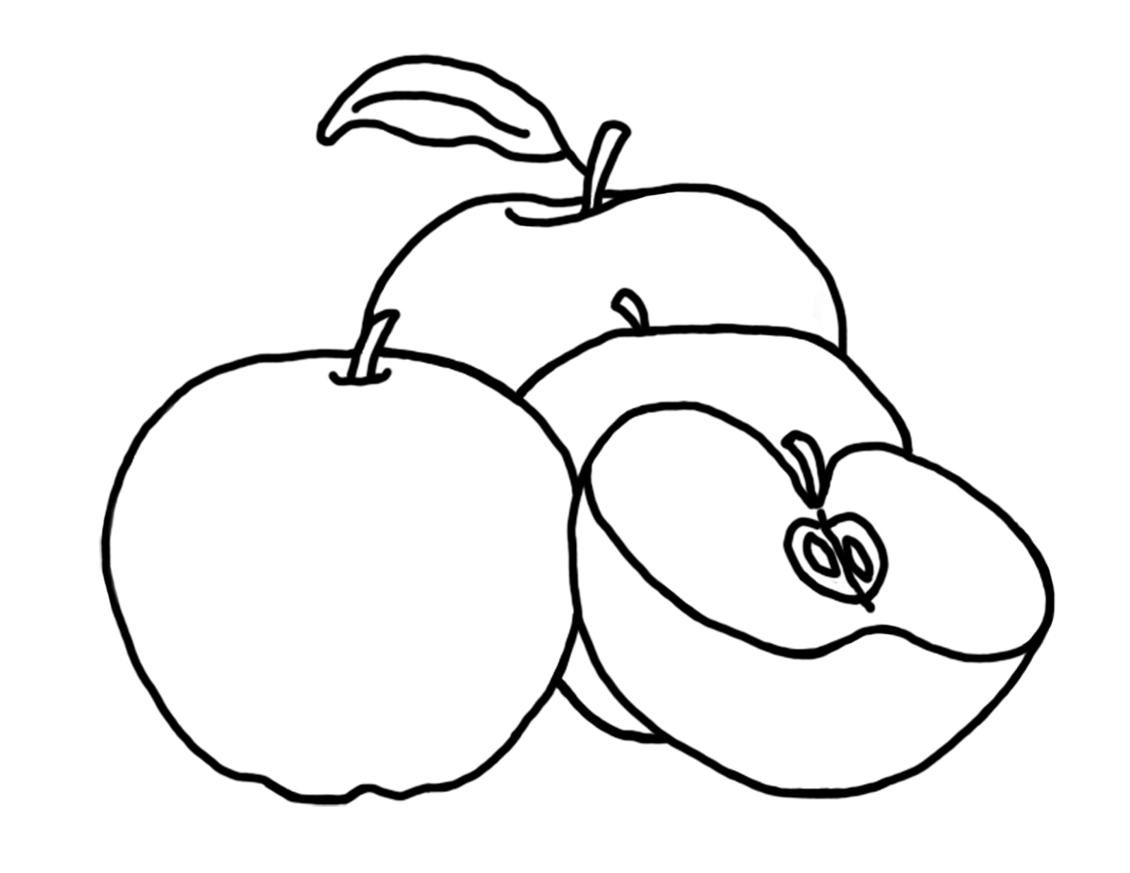 printable apple pictures printable simple apple outline 9 coloring page apple pictures printable