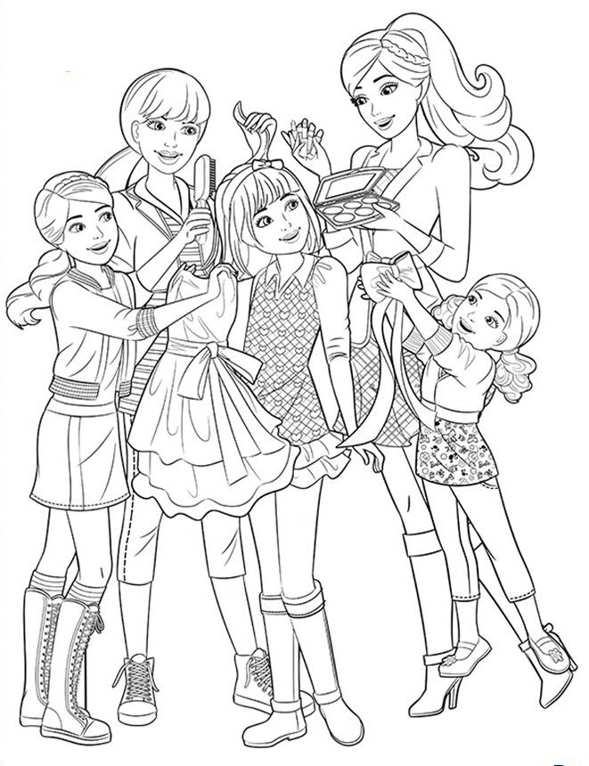printable barbie family coloring pages barbie dream house coloring pages at getcoloringscom family coloring pages barbie printable